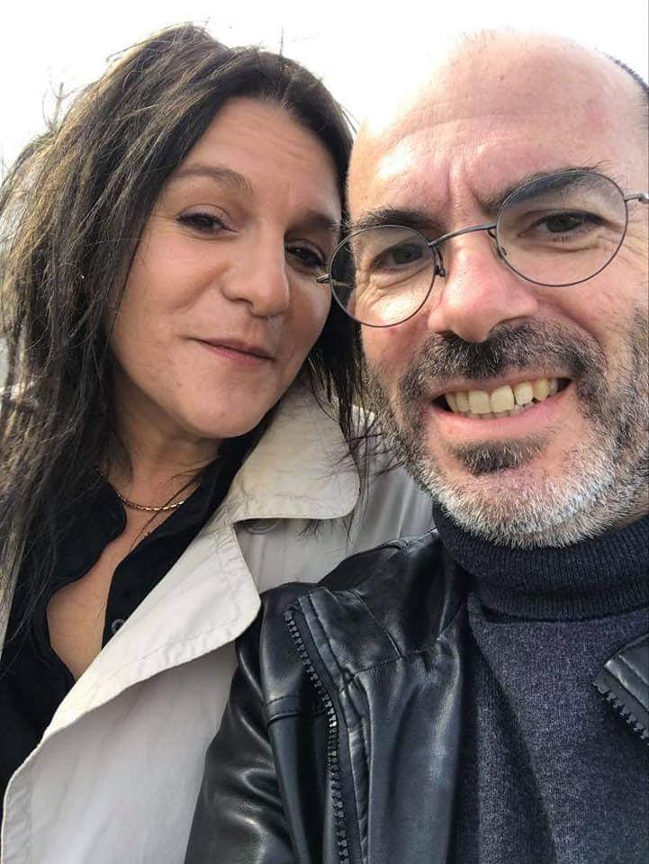 Elisabeth et Stéphane